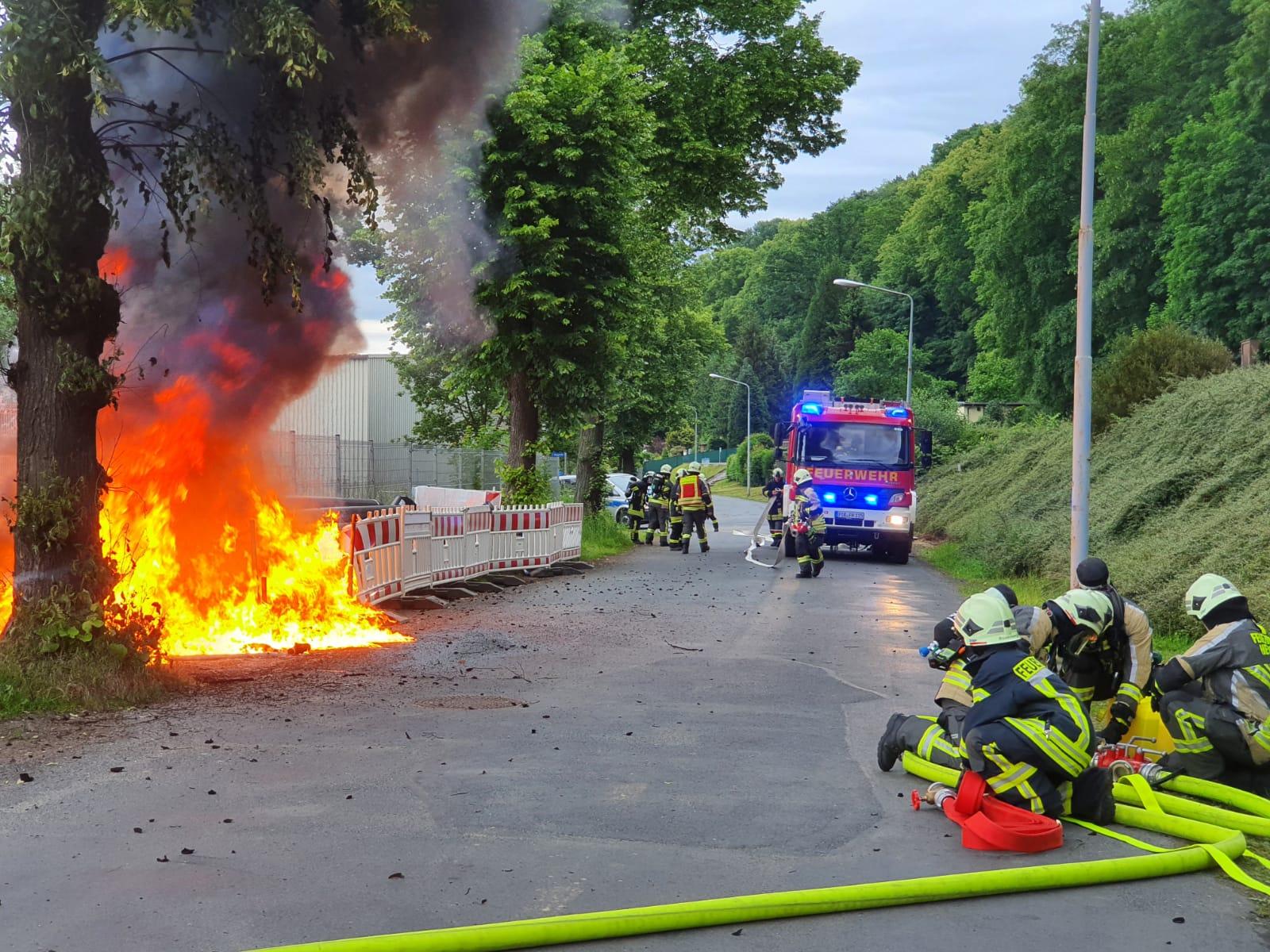 Brand Kunststoffrohre